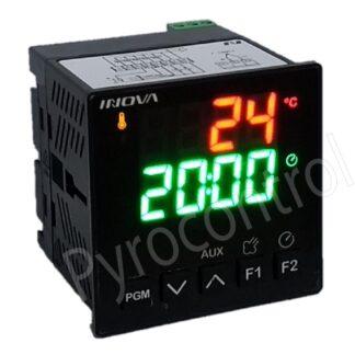 Controlador de Temperatura INV-YB1-11-J-H-F Com Chicote Adaptador Para INV-YB1-03-J-H